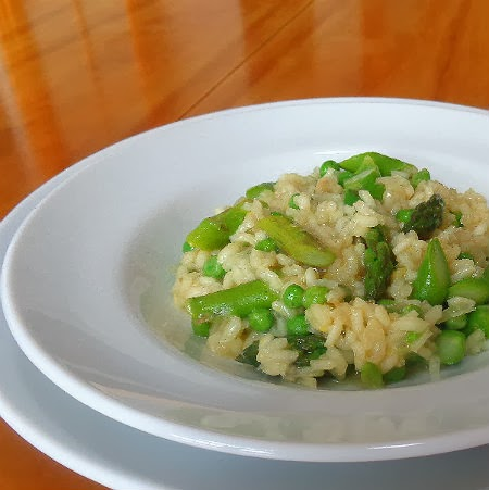 spring risotto a try here is how it s made