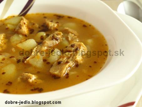 Držková polievka zo sójových plátkov - recepty