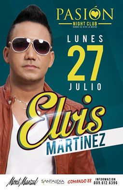 Elvis Martinez en Pasión Night Club