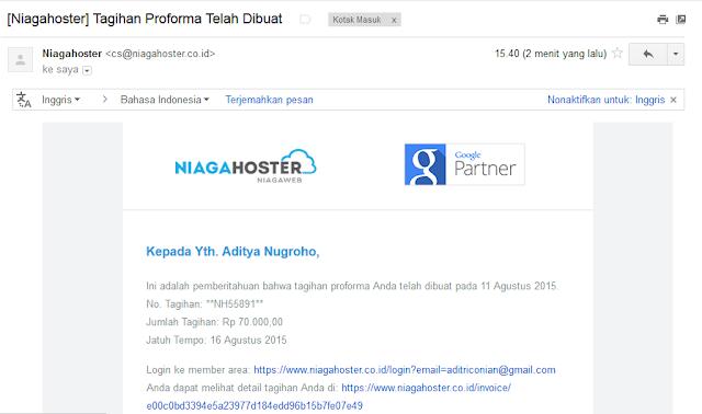 Cara Membeli Sewa Domain Blog di NiagaHoster