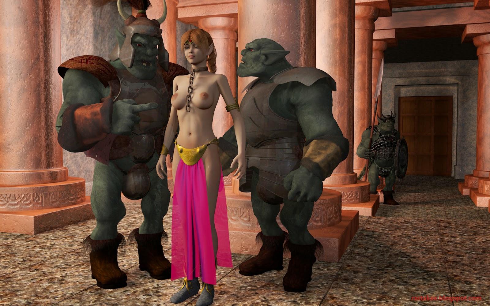 Sexy fantasy armor sex scene