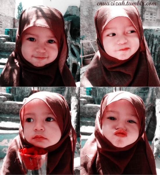 anak-kecil-bertudung-comel