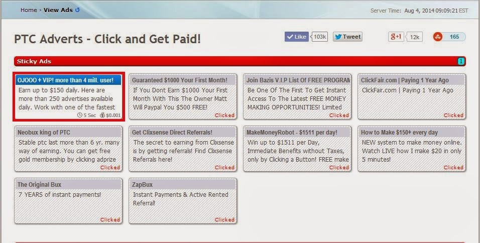 how to earn from pay per click