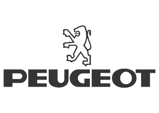 download Logo Peugeot (black white) Vector