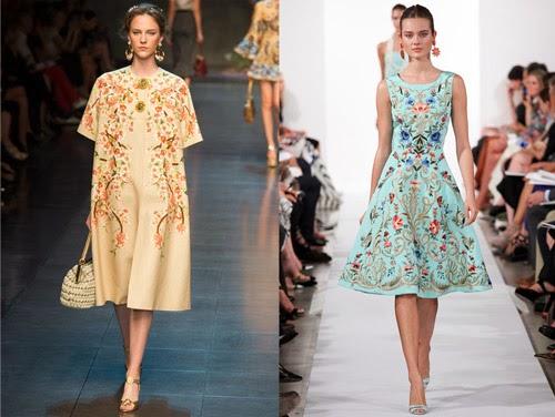 Dolce & Gabbana and Oscar de la Renta
