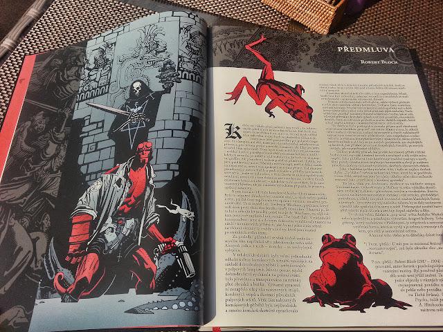 Hellboy pekelná knižnice úvodní slovo