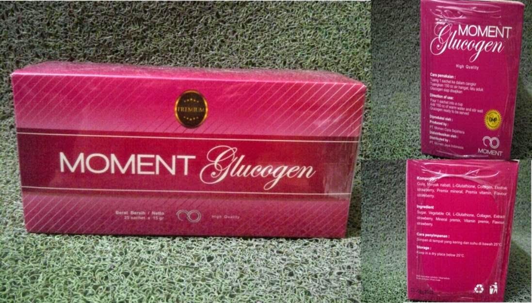 Tri Kosmetik Murah Glucogen Glutathione GSH Moment