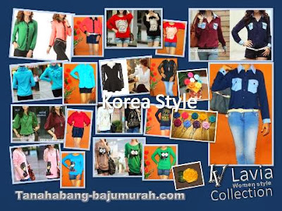 Grosir Blouse Model Korea Murah