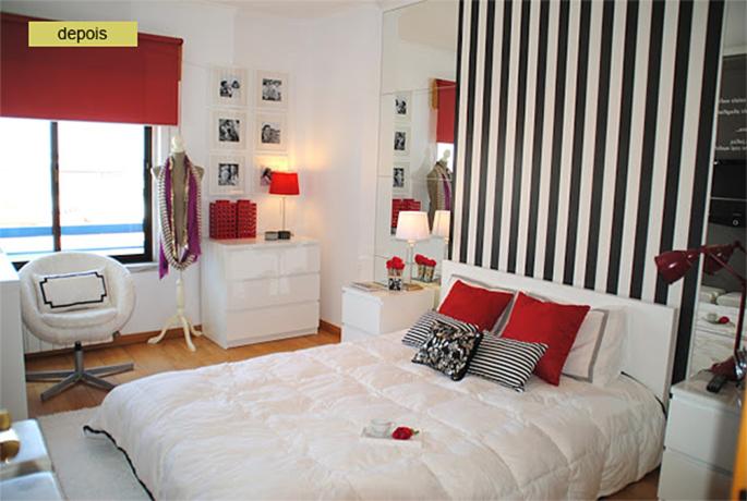Antes & Depois um quarto que virou um sonho Casinha  ~ Um Quarto De Laranja Blog