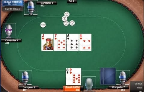 play texas poker online