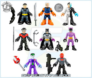 Imaginext dc comics blind bag foil Batman Catwoman Red Hood アメコミ バットマン