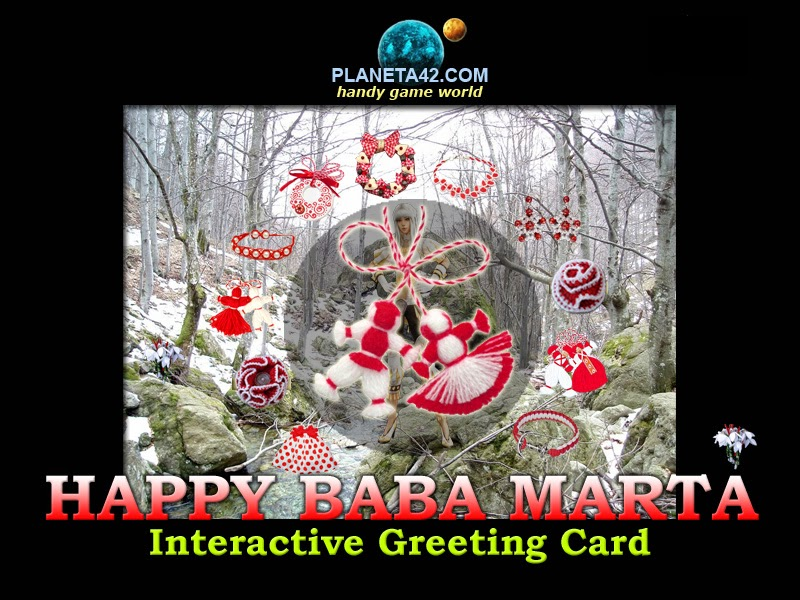 Holiday games happy baba marta free online greeting card happy baba marta free online greeting card m4hsunfo
