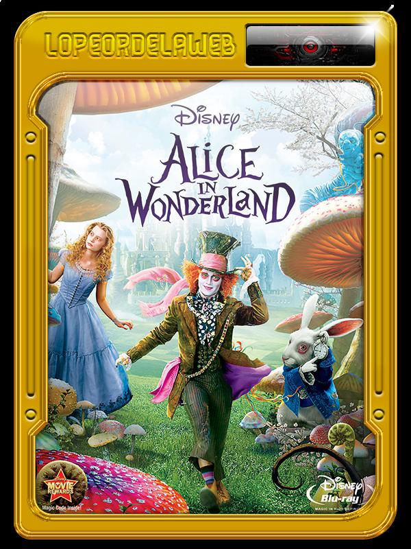 Alicia en el País de las Maravillas 720p, Dual, Mega