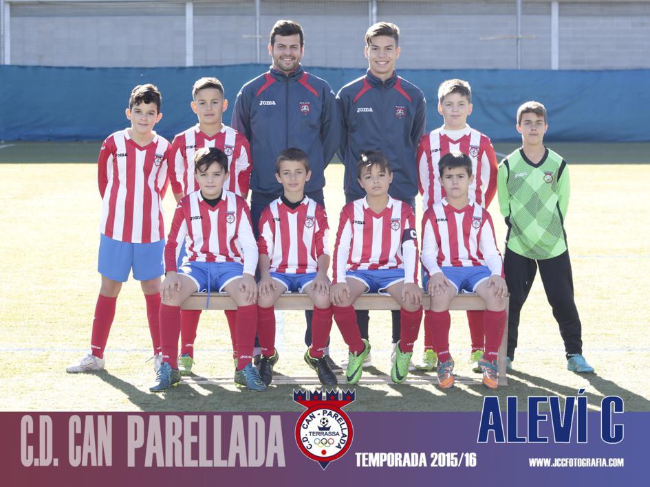 ALEVÍN C. C.D.CAN PARELLADA TEMPORADA 2015-16