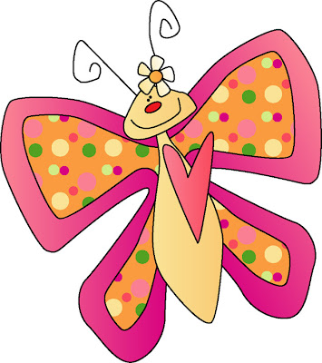 Desenho de borboleta colorido