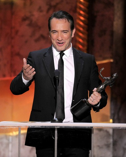 Claquete oscar watch 2012 cenas de cinema sag for Jean dujardin alcool