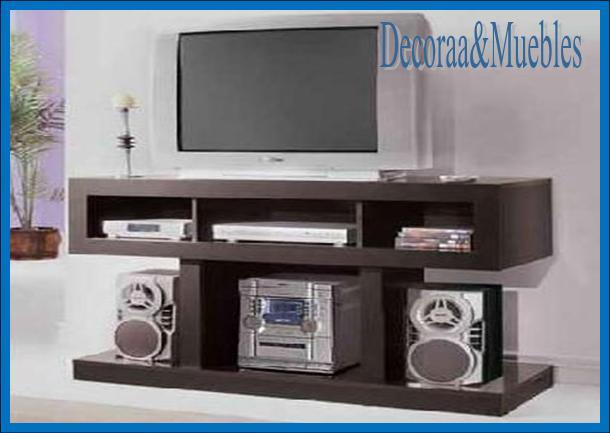 Decoraa muebles mesa de tv - Muebles para equipo de sonido ...