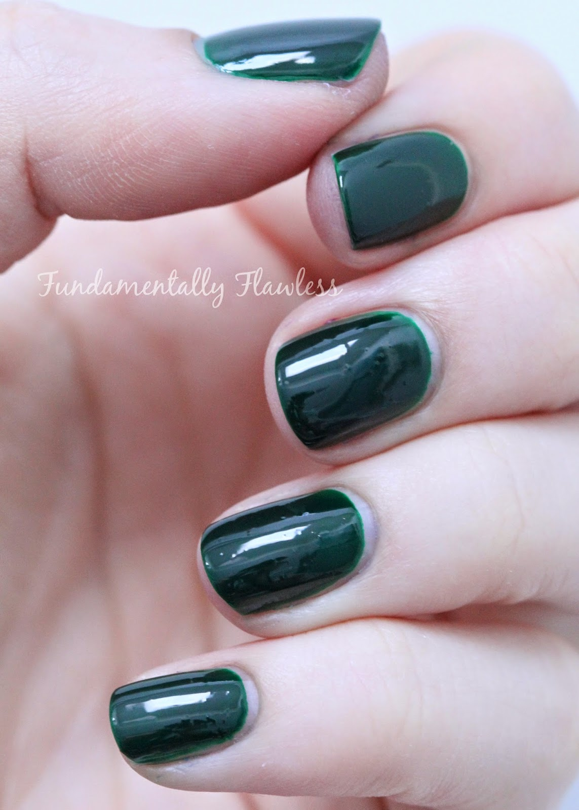 Models Own Autumn Hypergel Ebony Green swatch