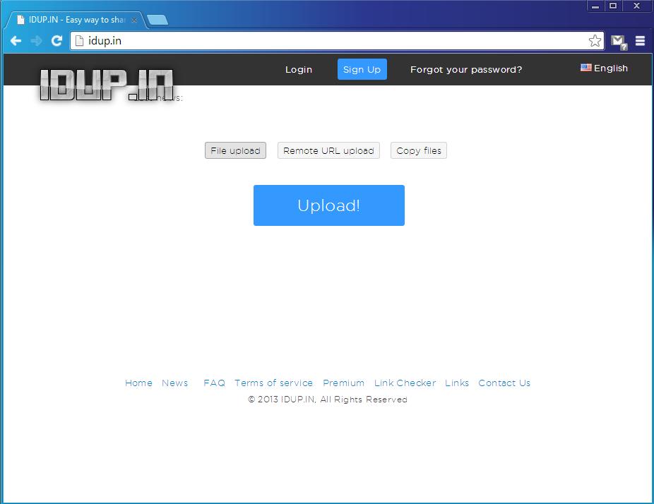 Cara Download File di IDUP.IN 1