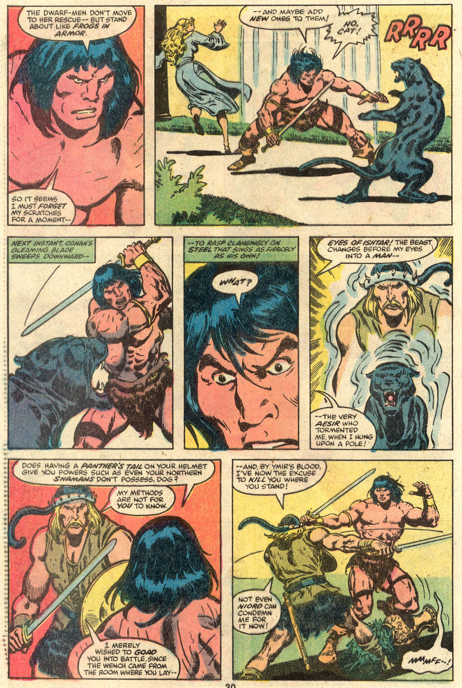 Conan the Barbarian (1970) Issue #110 #122 - English 17