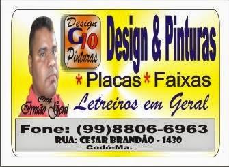 Design & Pinturas - Placas & Faixas