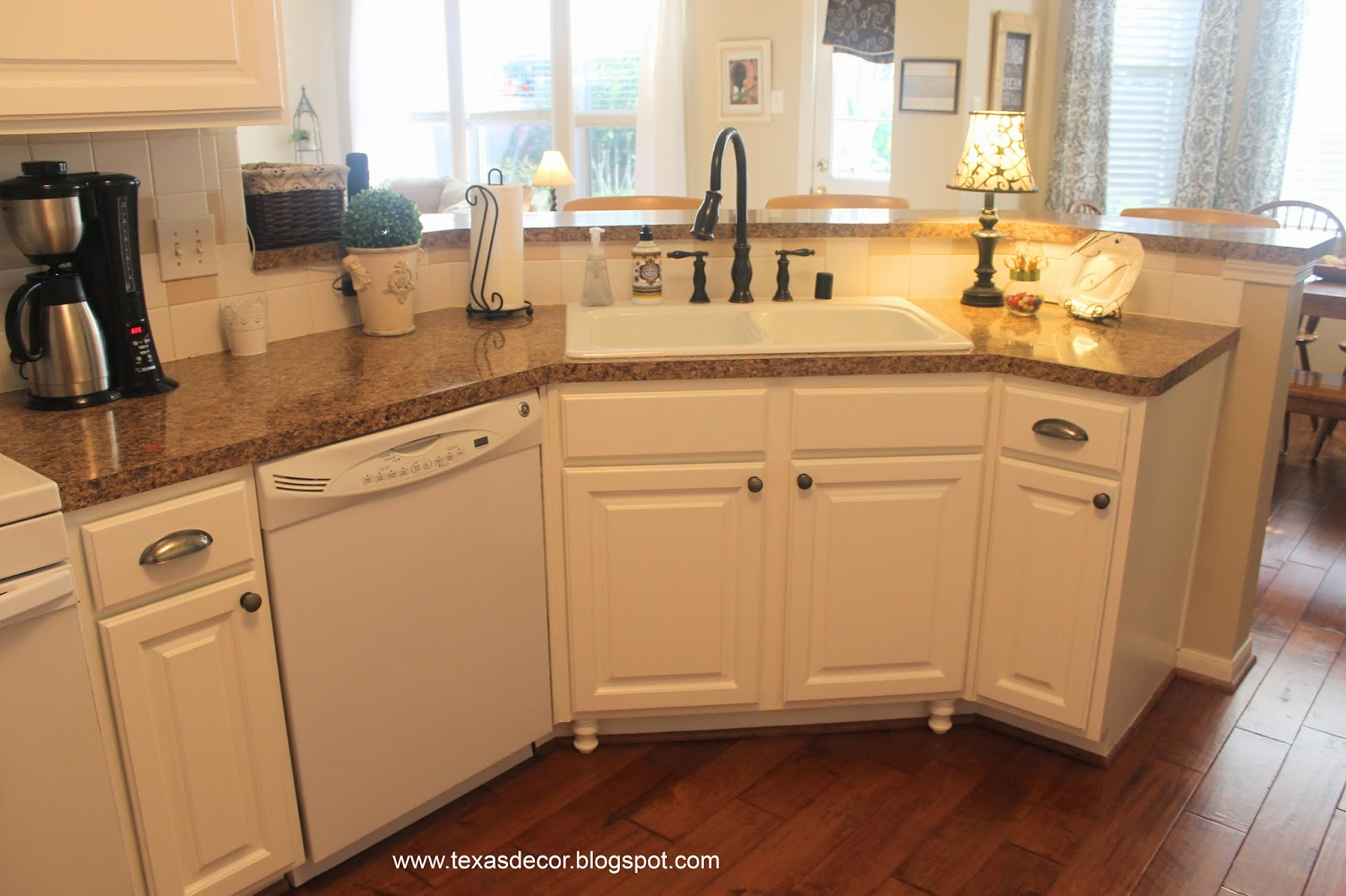 Kitchen Cabinets With Feet Texas Decor Painted Kitchen Cabinet Reveal