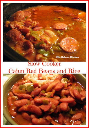 Slow Cooker Cajun Red Beans & Rice