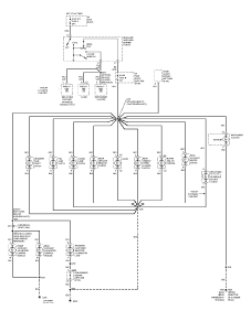 wiring diagrams for chevrolet pickup c schematic wiring the 1997 chevrolet pickup c1500 wiring diagrams