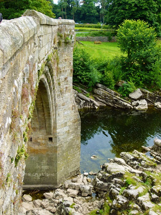 Devil's Bridge, Kirkby Lonsdale, between Skipton and Kendal, A65