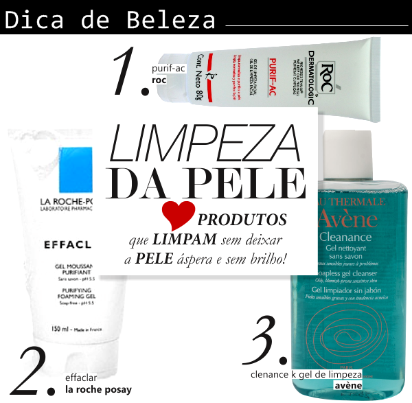 DICA DO DIA: LIMPEZA DA PELE