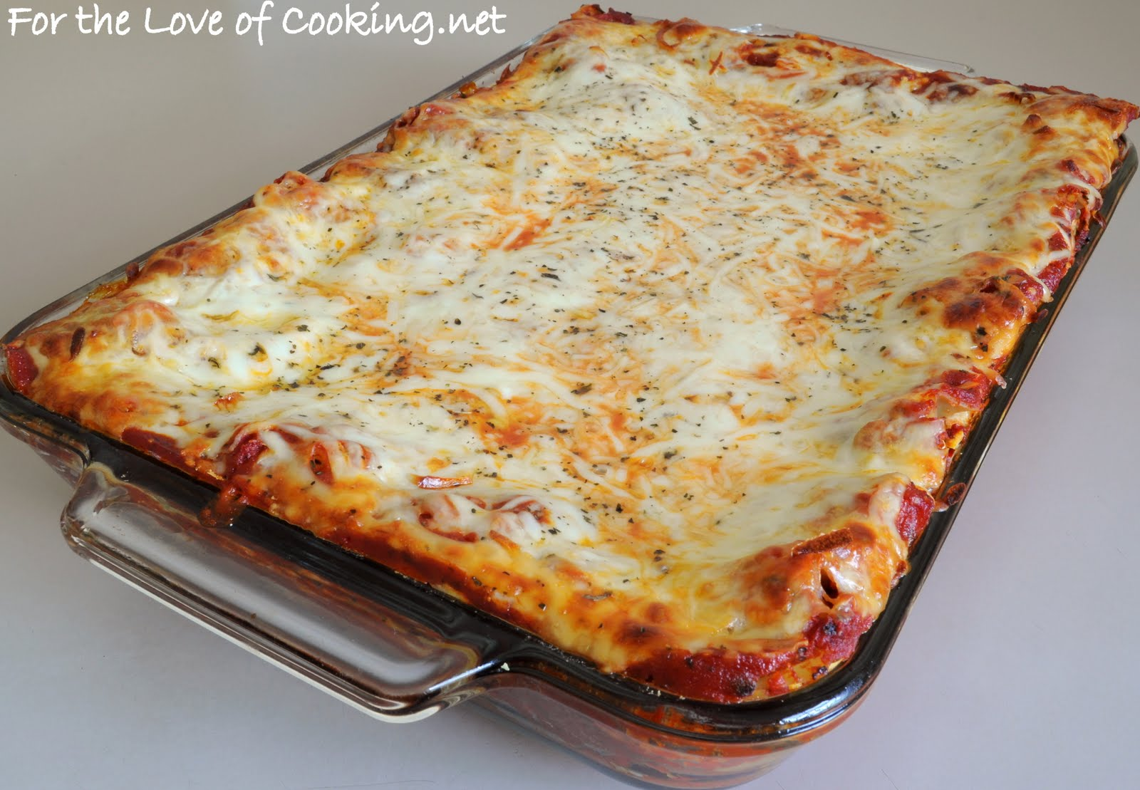 For the Love of Cooking: Italian Sausage and Spinach Lasagna