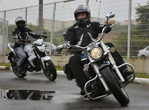 Tudo misturado, pois moto é moto. Venha todos os estilos.