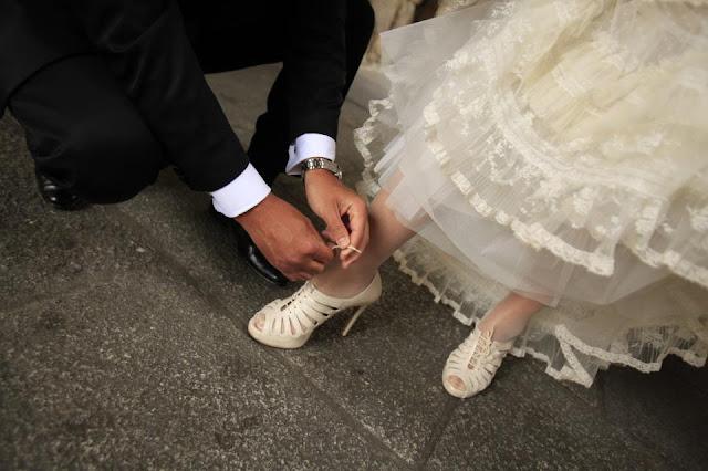 Zapatos de novia Nuria Cobo