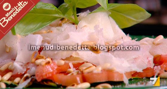 Carpaccio di Zucchine di Benedetta Parodi