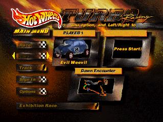 Hot Wheels Turbo Racing