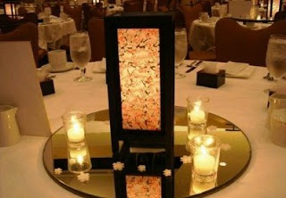 Wedding Decor, oriental centerpieces 2