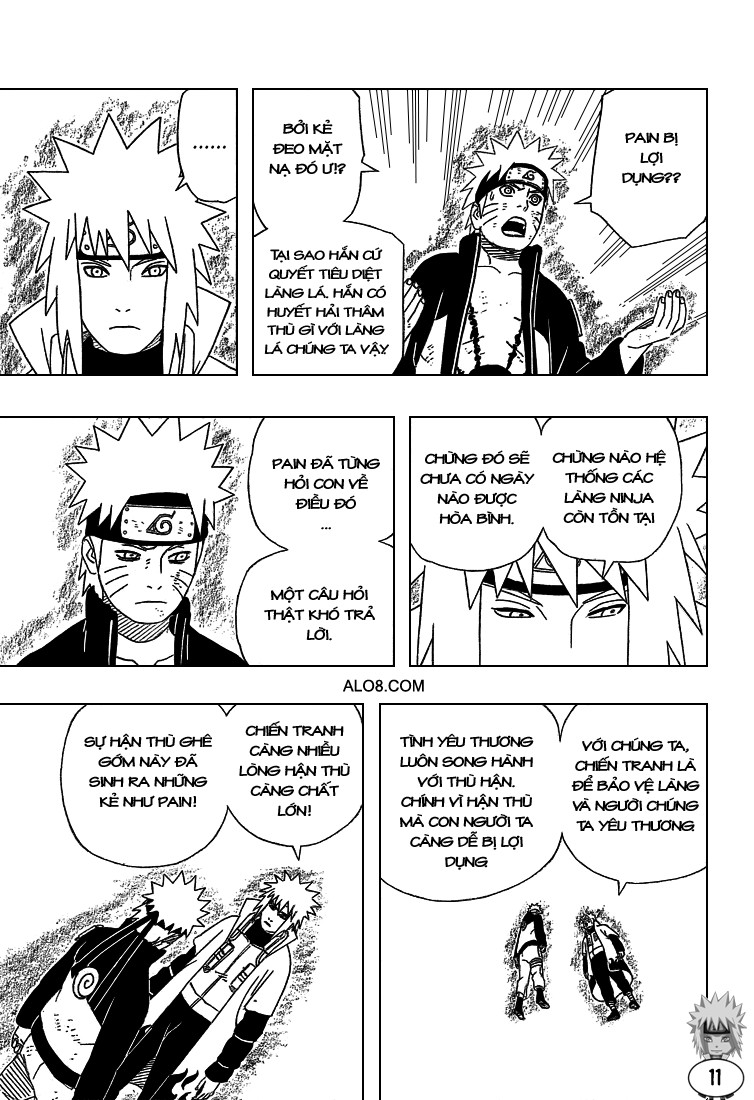 Naruto chap 440 Trang 11 - Mangak.info
