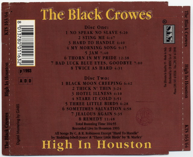 the black crowes discography flac