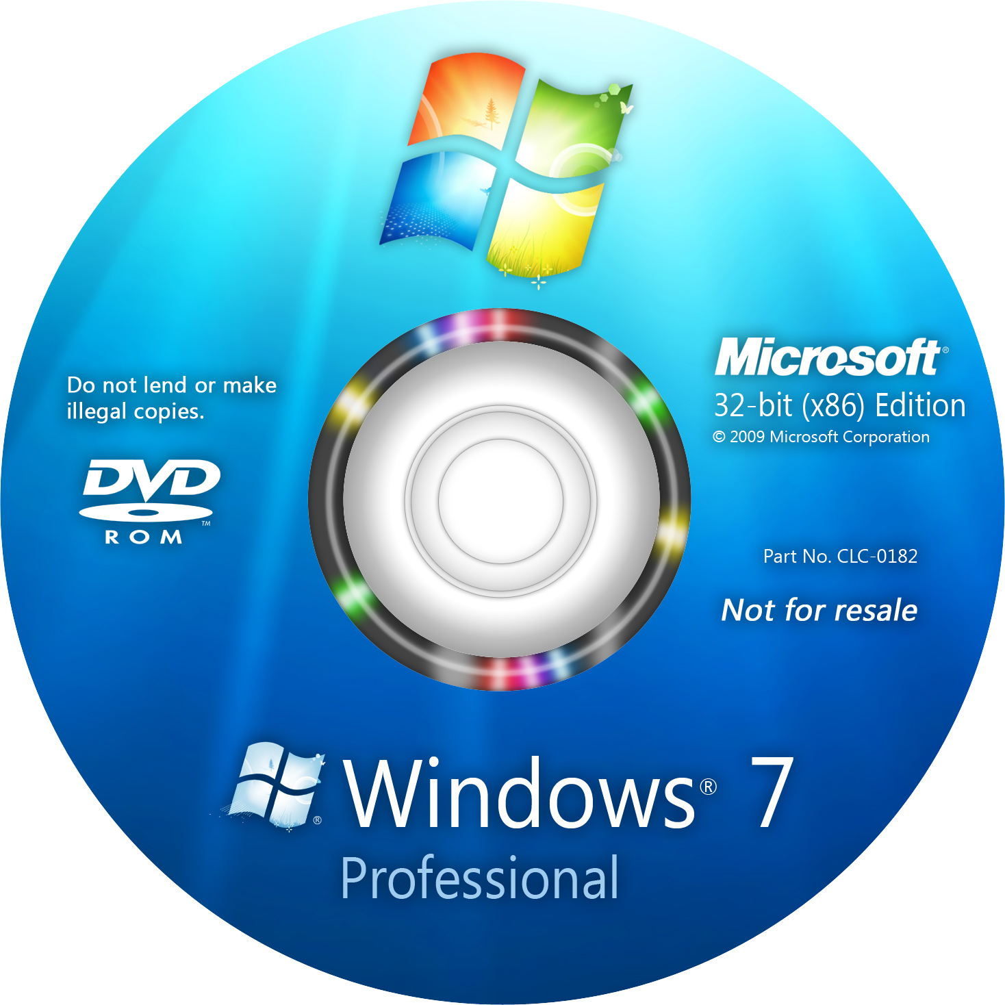 Windows 7 Professional 32 y 64 bits full + serial