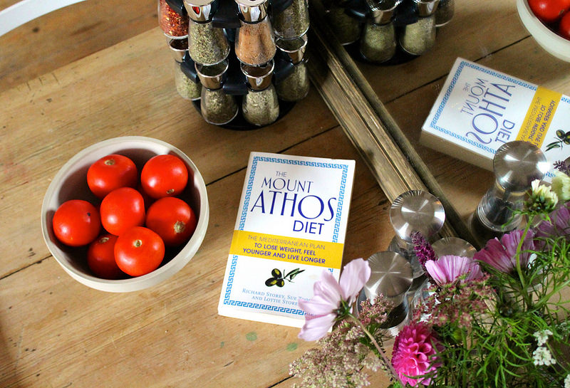 Greek salad recipe from The Mount Athos Diet