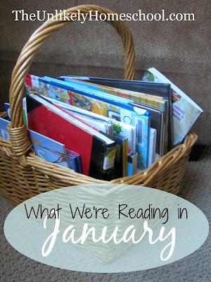 What We're Reading in January-The Unlikely Homeschool