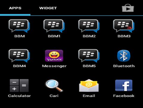 Cara Terbaru Install 2 Aplikasi BBM Dalam 1 Hp Android