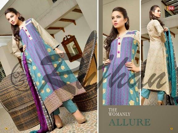 FestivanaEidCollectionByRujhanFabrics wwwfashionhuntworldblogspot 18  - Festivana Eid Collection 2014-2015 By Rujhan Fabrics