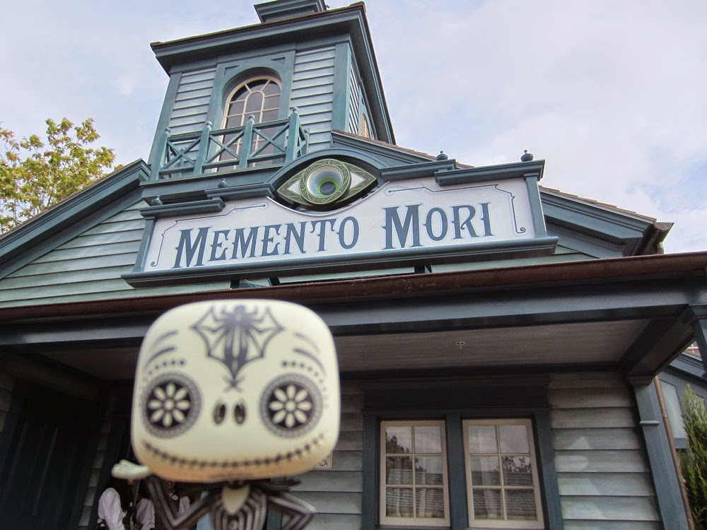 Jack Skellington's Walt Disney World Trip Selfies Memento Mori