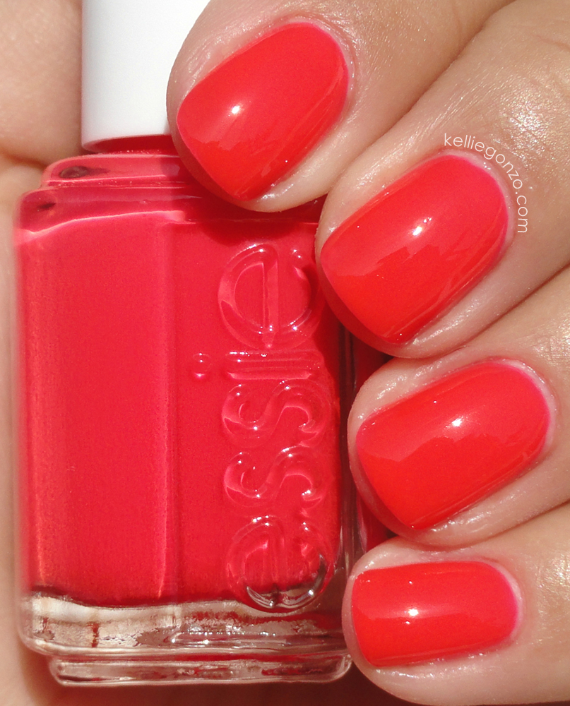 Fashion week Poppy-razzi essie neons collection for lady