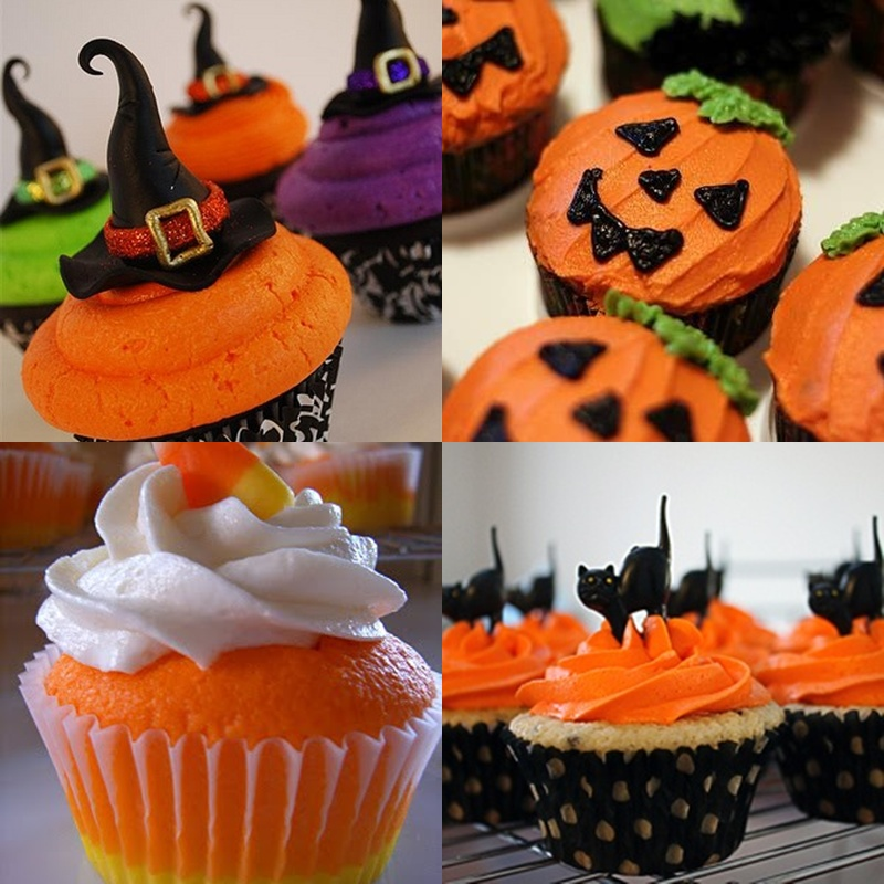 Pop culture and fashion magic easy halloween food ideas Halloween cupcakes