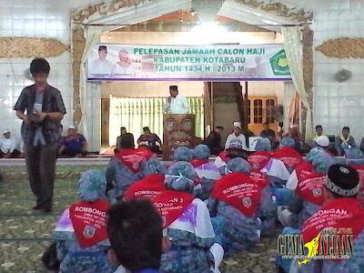 Enam Bus Angkut Calon Haji