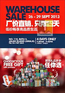 Ga Hing Trading Warehouse Sale 2013
