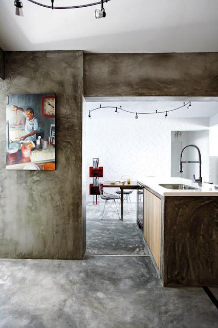 hiasan dalaman rumah, dekorasi rumah, warna dinding, lukisan seni, rekabentuk dapur