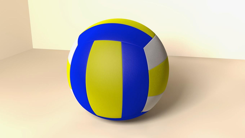 Membuat Model Bola Voli Dengan Cinema 4D